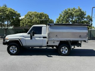 2008 Toyota Landcruiser VDJ79R Workmate White 5 Speed Manual Utility