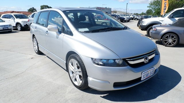Used Honda Odyssey 3rd Gen MY07 Luxury St James, 2007 Honda Odyssey 3rd Gen MY07 Luxury Silver 5 Speed Sports Automatic Wagon