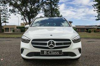 2020 Mercedes-Benz B-Class W247 800+050MY B180 DCT Polar White 7 Speed Sports Automatic Dual Clutch.