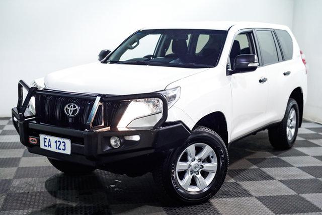 Used Toyota Landcruiser Prado KDJ150R MY14 GX Edgewater, 2013 Toyota Landcruiser Prado KDJ150R MY14 GX White 6 Speed Manual Wagon
