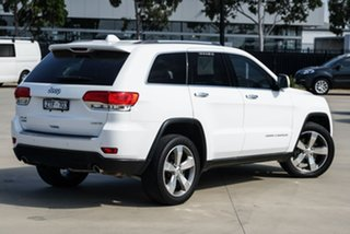 2013 Jeep Grand Cherokee WK Limited White Sports Automatic SUV.