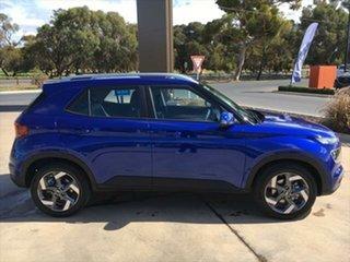 2021 Hyundai Venue QX.V3 MY21 Active Intense Blue 6 Speed Automatic Wagon.