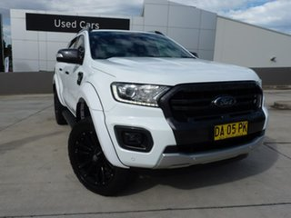 2018 Ford Ranger PX MkIII 2019.00MY Wildtrak White 6 Speed Sports Automatic Utility.