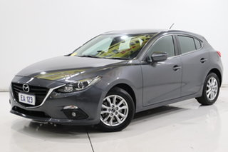 2016 Mazda 3 BM5478 Maxx SKYACTIV-Drive Grey 6 Speed Sports Automatic Hatchback.