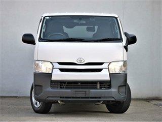 2015 Toyota HiAce KDH201V Hiace DX DX White Automatic Van.