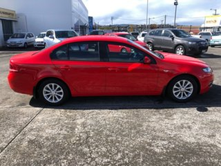 2013 Ford Falcon FG MkII XT Ecoboost Red 6 Speed Sports Automatic Sedan.