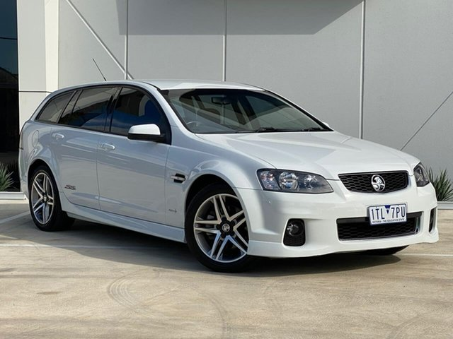 Used Holden Commodore VE II MY12 SS Sportwagon Templestowe, 2012 Holden Commodore VE II MY12 SS Sportwagon White 6 Speed Manual Wagon