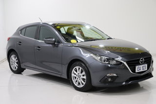 2016 Mazda 3 BM5478 Maxx SKYACTIV-Drive Grey 6 Speed Sports Automatic Hatchback