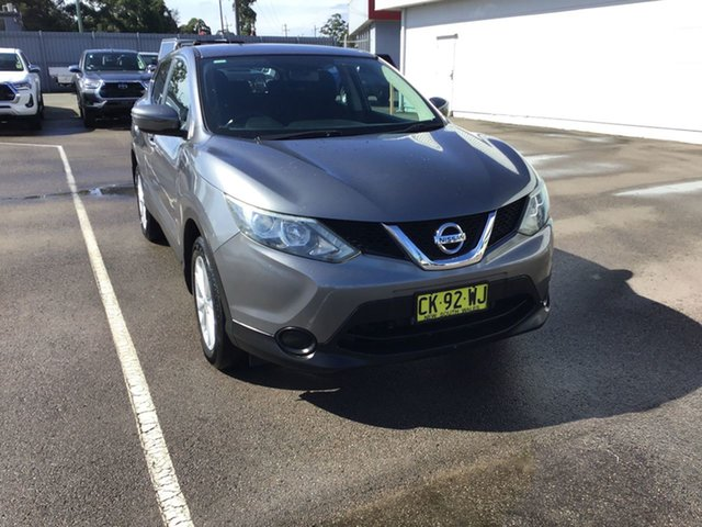 Used Nissan Qashqai J11 ST Cardiff, 2015 Nissan Qashqai J11 ST Grey 1 Speed Constant Variable Wagon