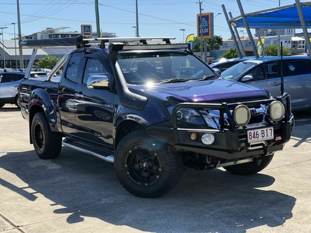 Used Isuzu D-MAX MY15.5 LS-U Space Cab Chermside, 2016 Isuzu D-MAX MY15.5 LS-U Space Cab Blue 5 Speed Manual Utility