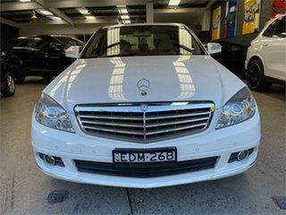 2007 Mercedes-Benz C-Class W203 C200 Kompressor Elegance Calcite White Sports Automatic Sedan.
