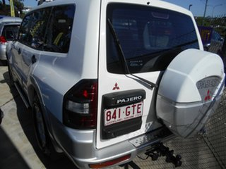 2002 Mitsubishi Pajero NM MY2002 GLS White 5 Speed Sports Automatic Wagon