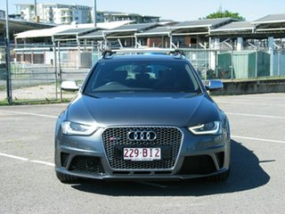 2014 Audi RS 4 8K MY14 Avant Quattro Grey 7 Speed Auto Direct Shift Wagon.