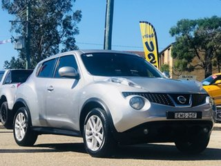 2014 Nissan Juke F15 MY14 ST 2WD Silver, Chrome 1 Speed Constant Variable Hatchback