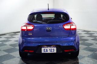 2013 Kia Rio UB MY13 S Blue 6 Speed Manual Hatchback