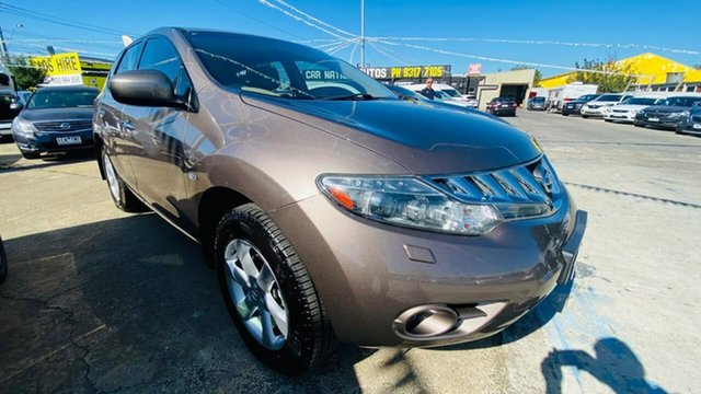 Used Nissan Murano Z51 ST Maidstone, 2009 Nissan Murano Z51 ST Bronze 6 Speed Constant Variable Wagon