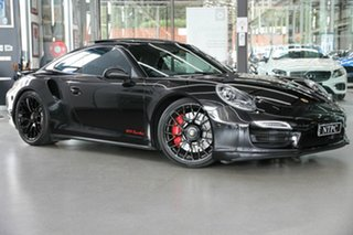 2014 Porsche 911 991 MY14 Turbo PDK AWD Black 7 Speed Sports Automatic Dual Clutch Coupe.