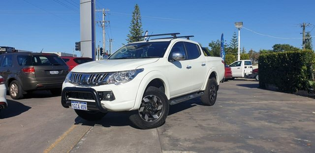 Used Mitsubishi Triton MQ MY16 Exceed Double Cab Morley, 2016 Mitsubishi Triton MQ MY16 Exceed Double Cab White 5 Speed Sports Automatic Utility