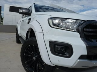 2018 Ford Ranger PX MkIII 2019.00MY Wildtrak White 6 Speed Sports Automatic Utility