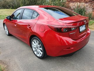 2015 Mazda 3 BM Series SP25 Astina Red Sports Automatic Sedan