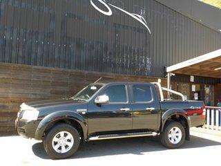 2008 Ford Ranger PJ XLT Crew Cab Black 5 Speed Manual Utility