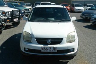 2003 Holden Cruze YG White 5 Speed Manual Wagon.