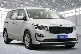 2020 Kia Carnival YP MY20 S Silky Silver 8 Speed Sports Automatic Wagon.