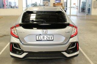 2021 Honda Civic 10th Gen MY20 VTi-LX Blue Metallic 1 Speed Constant Variable Sedan.