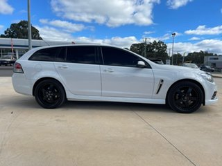 2015 Holden Commodore SV6 White Sports Automatic Wagon