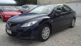 2010 Mazda 6 GH1052 MY10 Limited Blue 5 Speed Sports Automatic Sedan.