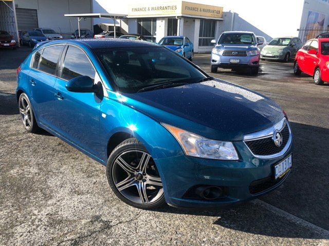 Used Holden Cruze JH Series II MY12 CD Derwent Park, 2012 Holden Cruze JH Series II MY12 CD Chlorophyll 6 Speed Sports Automatic Hatchback
