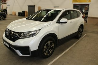 2020 Honda CR-V RW MY20 VTi FWD Platinum White 1 Speed Constant Variable Wagon.