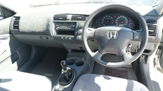 2002 Honda Civic 7th Gen MY2002 GLi White 5 Speed Manual Sedan