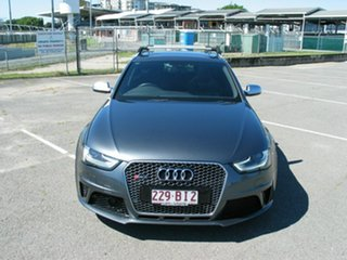 2014 Audi RS 4 8K MY14 Avant Quattro Grey 7 Speed Auto Direct Shift Wagon