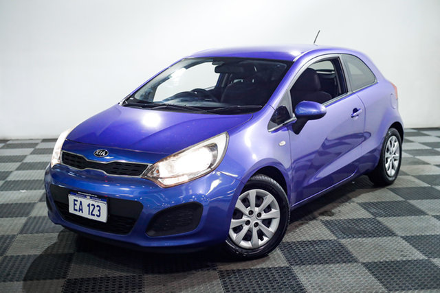 Used Kia Rio UB MY13 S Edgewater, 2013 Kia Rio UB MY13 S Blue 6 Speed Manual Hatchback