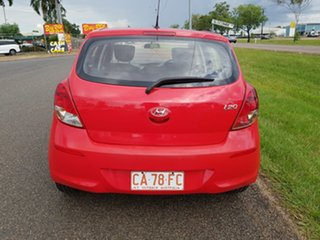 2012 Hyundai i20 PB MY13 Active Red 4 Speed Automatic Hatchback