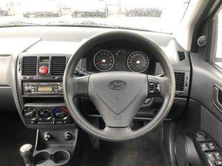 2007 Hyundai Getz TB MY06 Noble White 5 Speed Manual Hatchback