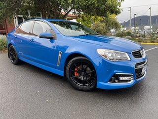 2014 Holden Commodore VF MY14 SV6 Storm Perfect Blue 6 Speed Sports Automatic Sedan.