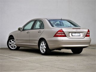 2001 Mercedes-Benz C-Class W203 C240 Elegance Gold Sports Automatic Sedan