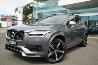 2017 Volvo XC90 256 MY17 T6 R-Design (AWD) Osmium Grey 8 Speed Automatic Geartronic Wagon.
