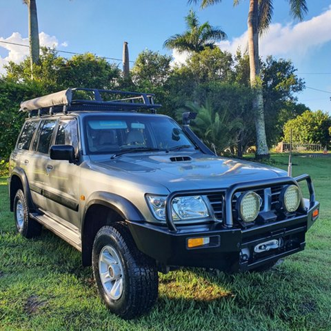 Used Nissan Patrol GU III MY2003 ST Alberton, 2003 Nissan Patrol GU III MY2003 ST Grey 5 Speed Manual Wagon