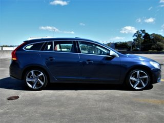2012 Volvo V60 F Series MY13 T5 PwrShift Blue 6 Speed Sports Automatic Dual Clutch Wagon