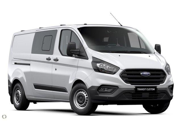 New Ford Transit Custom 340L (Low Roof) Ferntree Gully, 2020 Ford Transit Custom 340L (Low Roof) White 6 Speed Automatic Double Cab Van