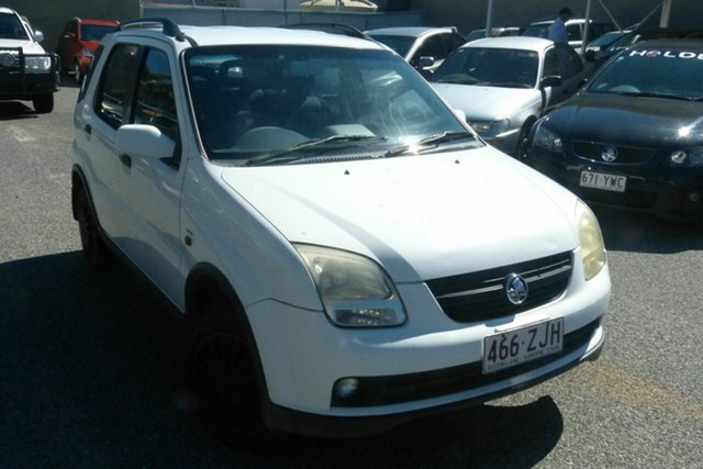 Used Holden Cruze YG Gladstone, 2003 Holden Cruze YG White 5 Speed Manual Wagon