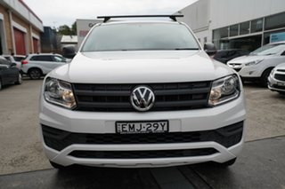 2018 Volkswagen Amarok 2H MY18 TDI420 4MOTION Perm Core Plus White 8 Speed Automatic Utility