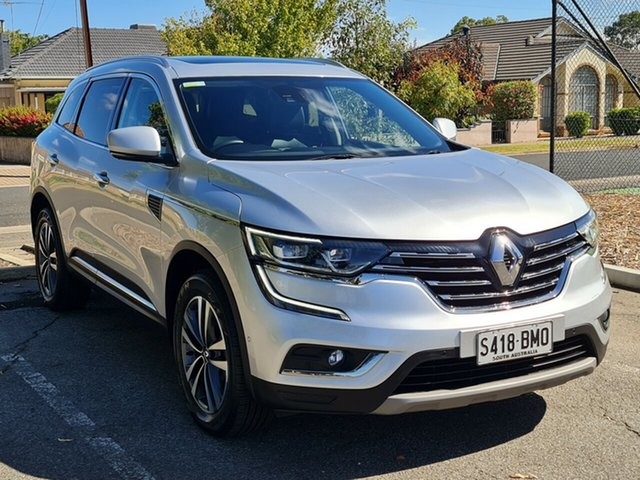 Used Renault Koleos HZG Intens X-tronic Nailsworth, 2016 Renault Koleos HZG Intens X-tronic Silver 1 Speed Constant Variable Wagon