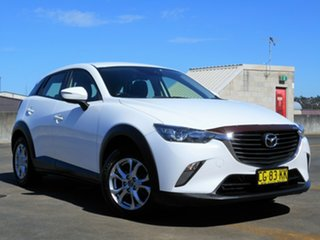 2015 Mazda CX-3 DK2WSA Maxx SKYACTIV-Drive White 6 Speed Sports Automatic Wagon.