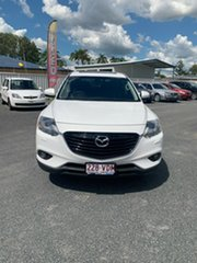 2014 Mazda CX-9 TB10A5 Grand Touring Activematic AWD Crystal White Pearl 6 Speed Sports Automatic.