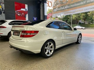 2008 Mercedes-Benz CLC-Class CL203 CLC200 Kompressor White Automatic Coupe