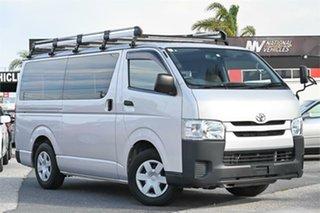 2015 Toyota HiAce KDH201V DX Silver Automatic Van.